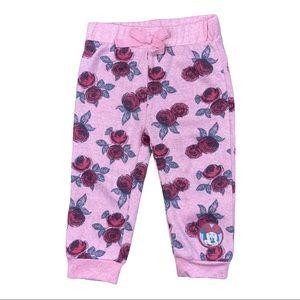 Disney Minnie Mouse rose track pants
